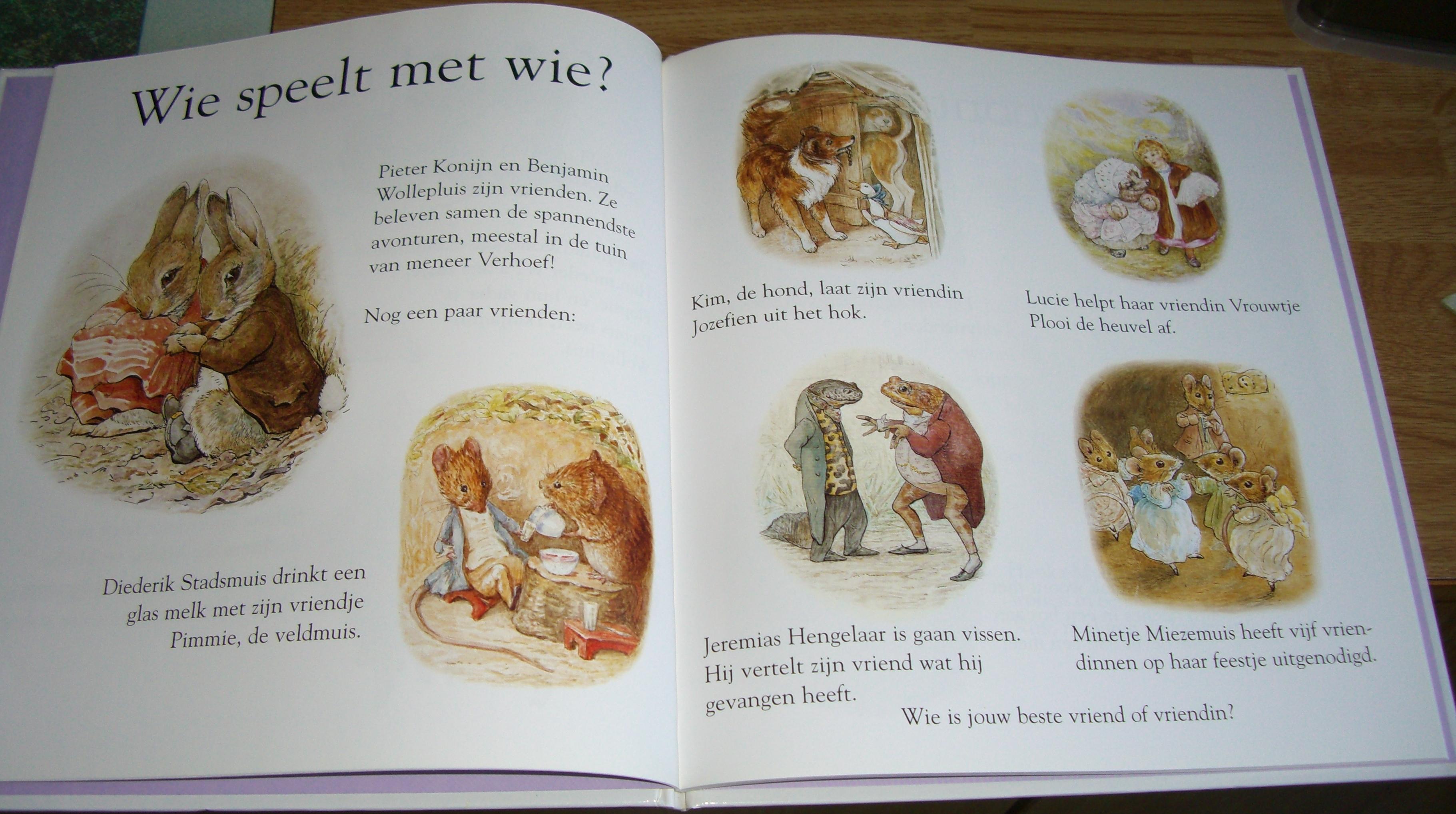 Beatrix Potter Mijn Eerste Boek Over Pieter Konijn Boekenwurm